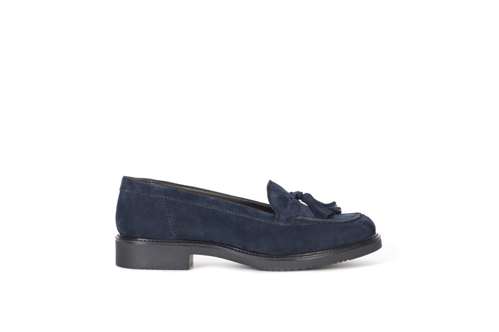 Adele 160454 Suede Royal