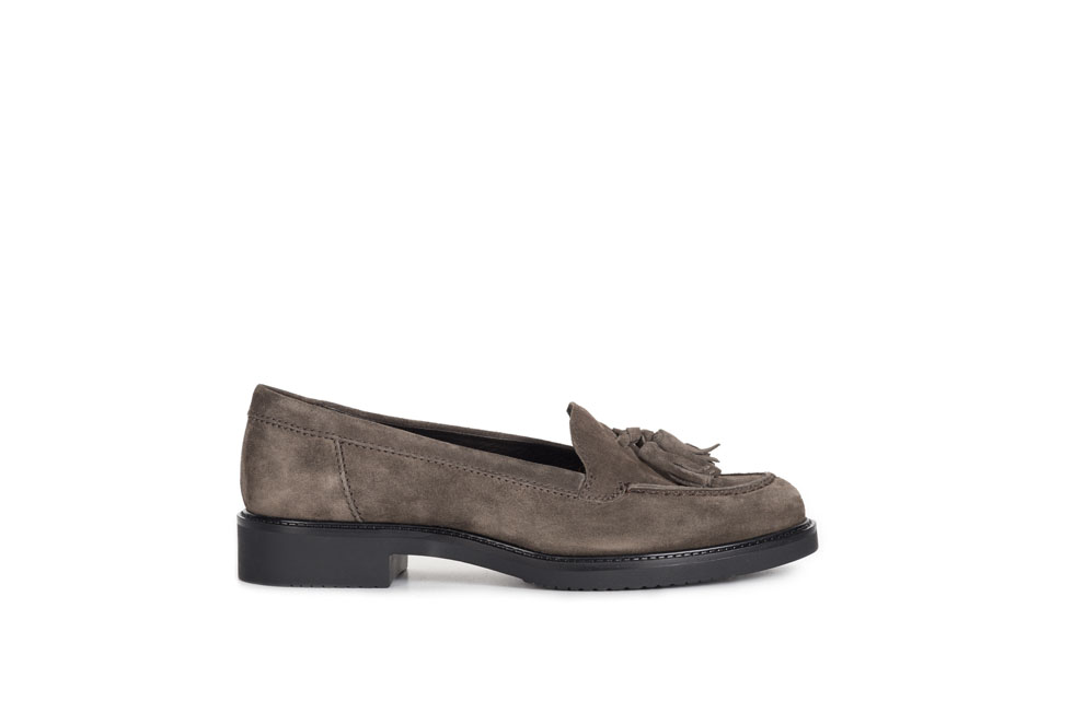 Adele 160454 Suede Taupe