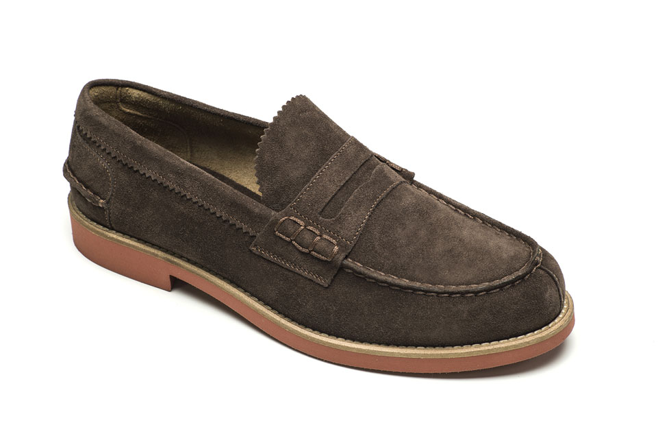 Lotus 18548 Suede Dark Brown