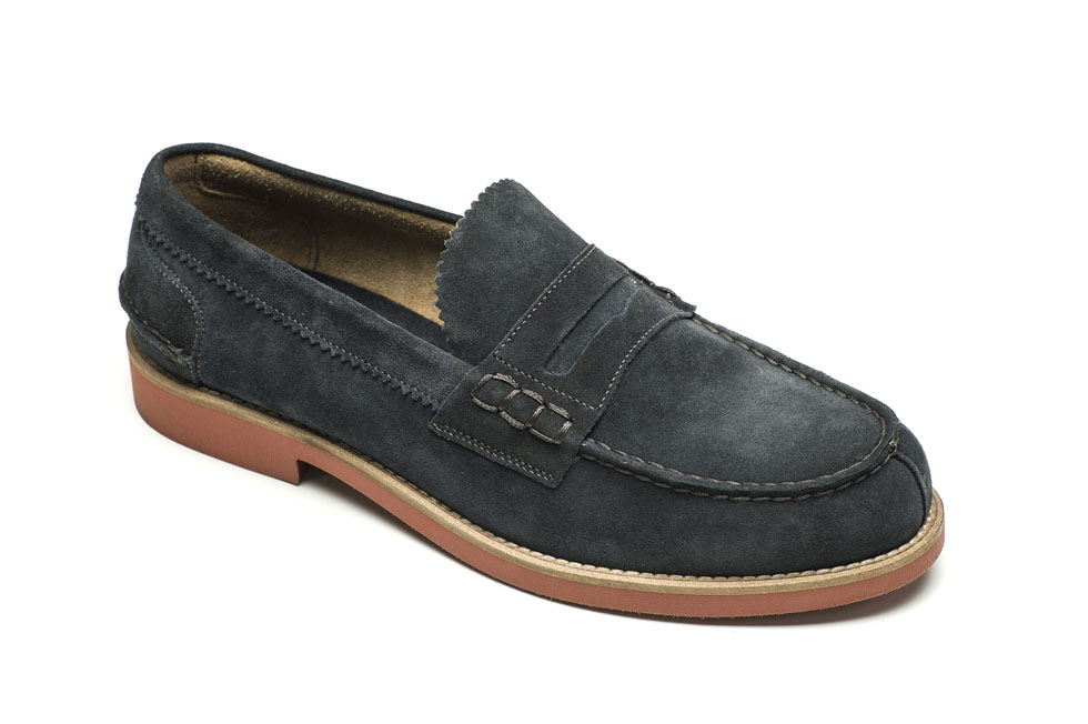 Lotus 18548 Suede Navy