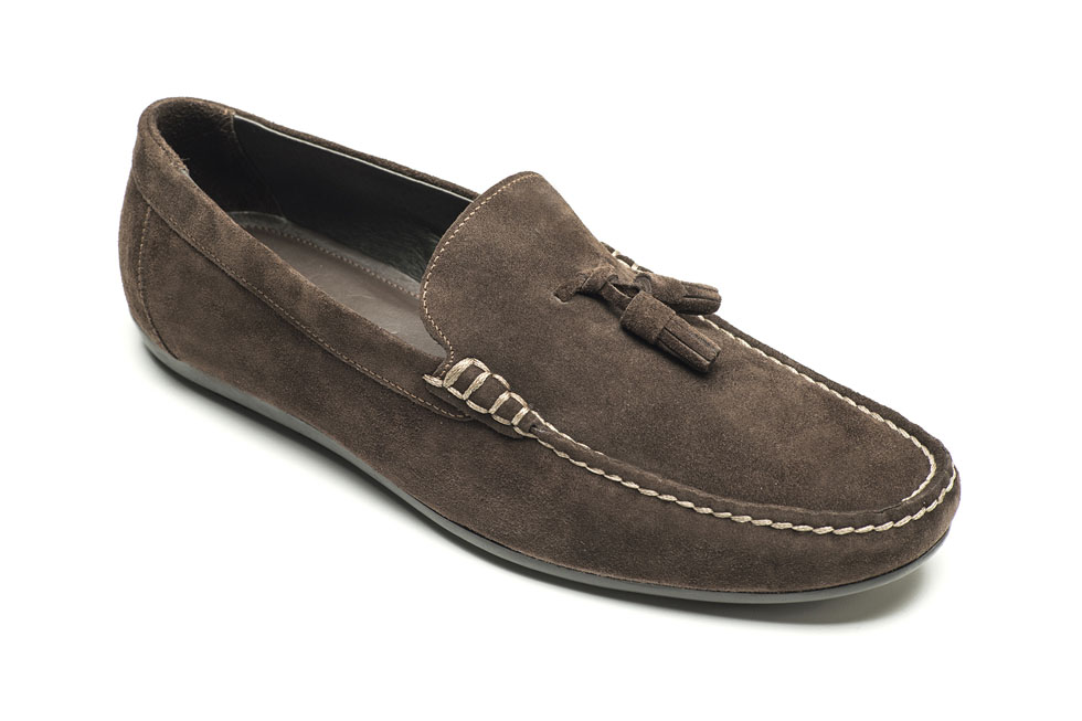 Nelson 460250 Suede Dark Brown