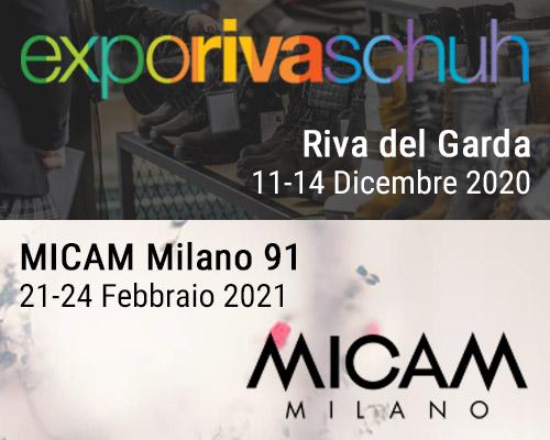 Maritan al EXPO RIVA SCHUH 94esima edizione e MICAM 91ESIMA EDIZIONE